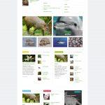 Сайт по экологии животных с продвижением